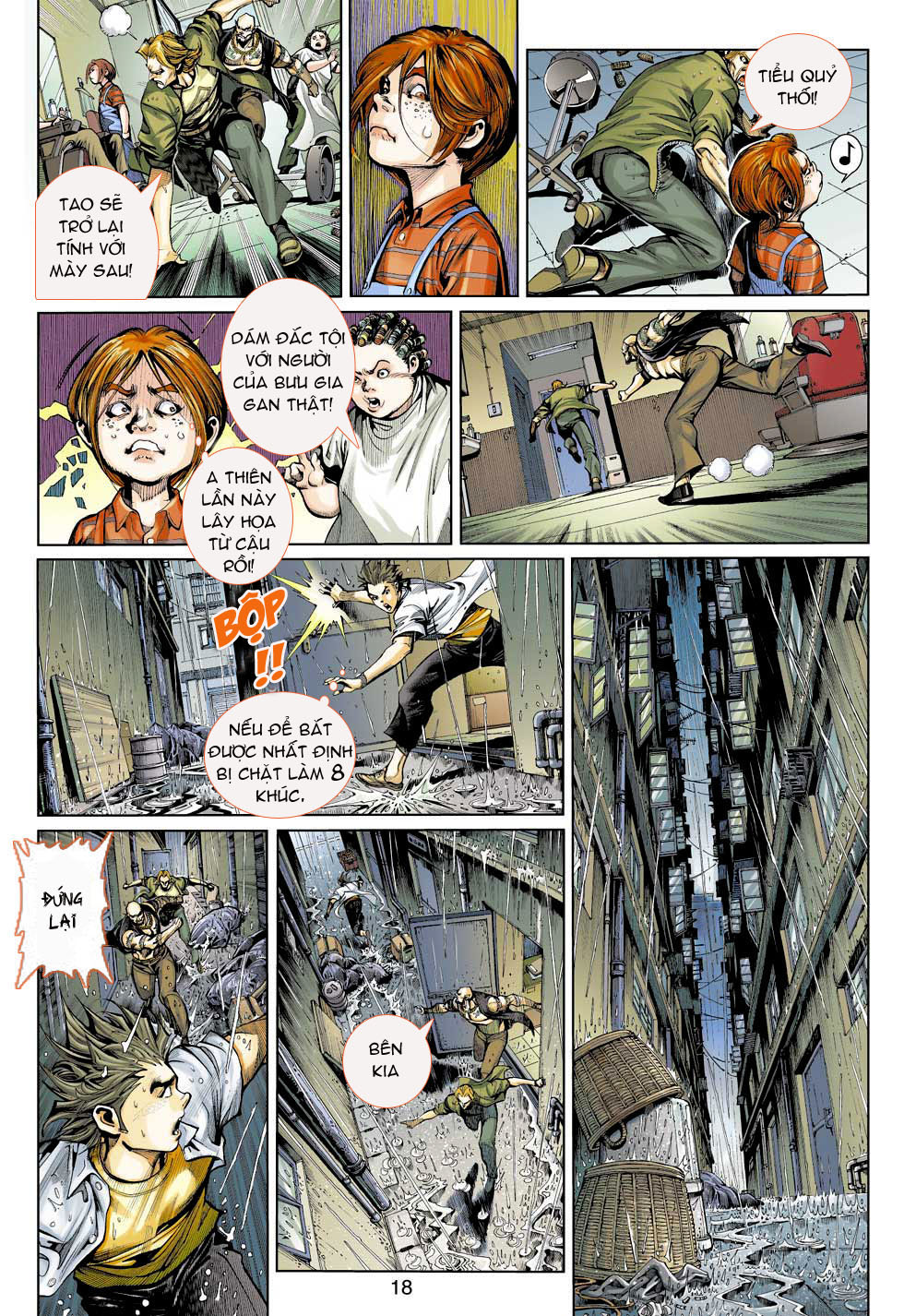 Thần Binh 4 chap 3 - Trang 18