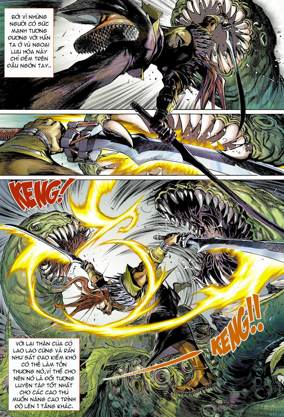 Thần Binh 4 chap 4 - Trang 25