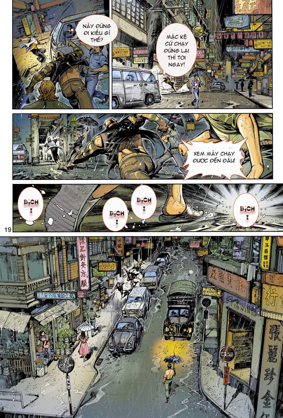 Thần Binh 4 chap 3 - Trang 19