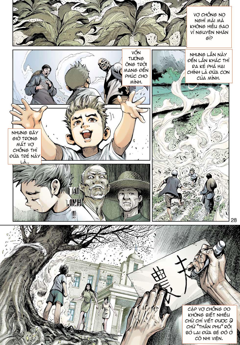 Thần Binh 4 chap 5 - Trang 28