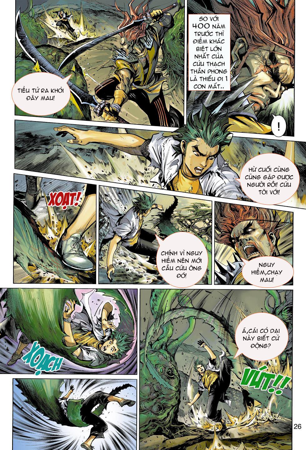 Thần Binh 4 chap 4 - Trang 26