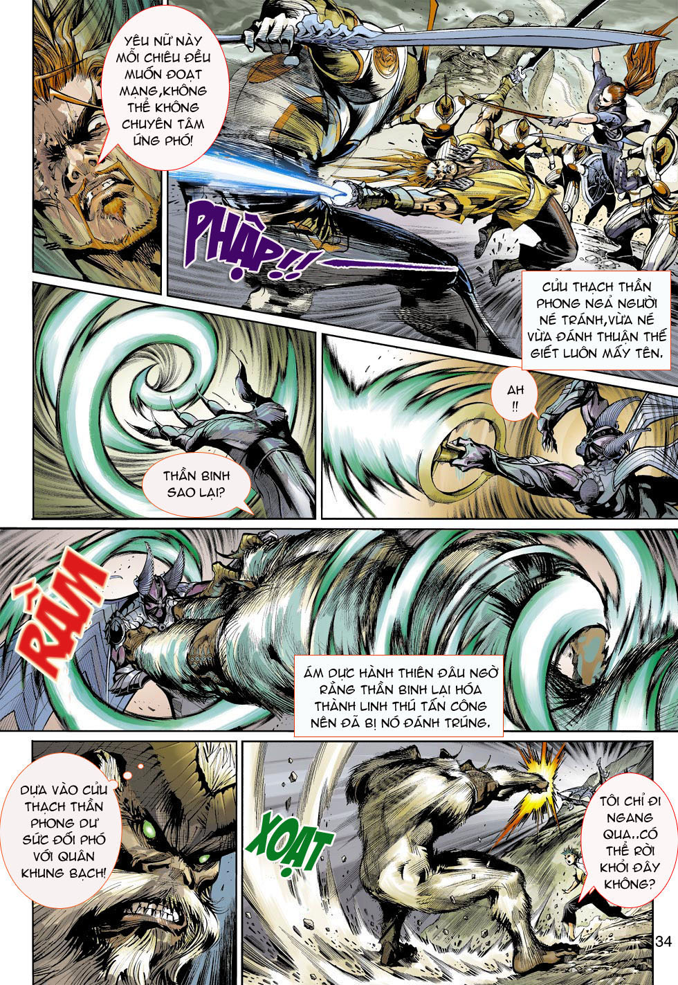 Thần Binh 4 chap 4 - Trang 34