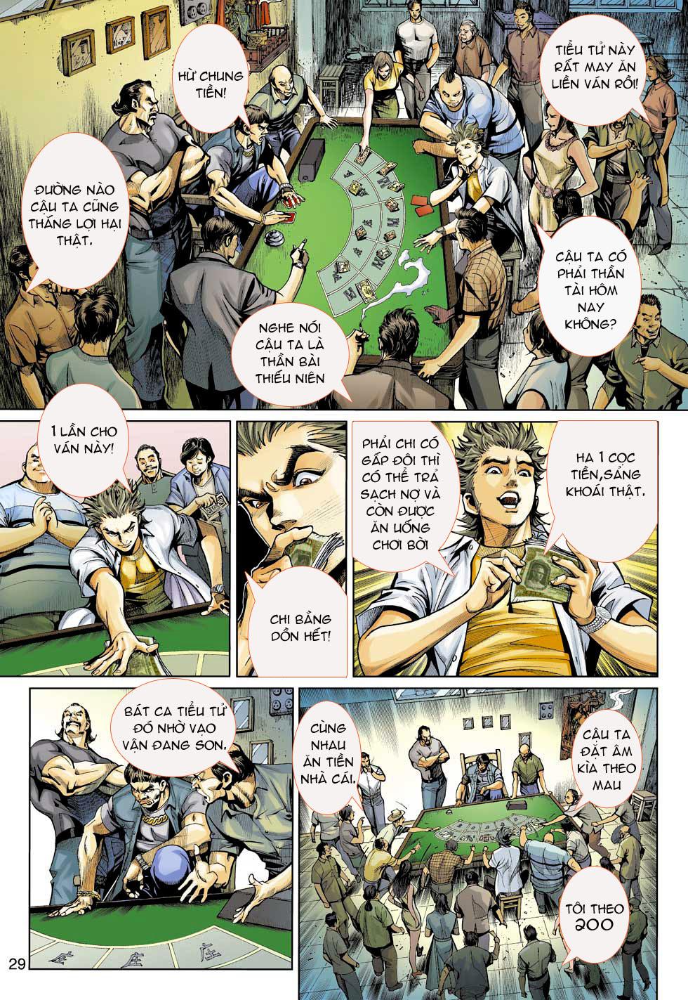 Thần Binh 4 chap 3 - Trang 29