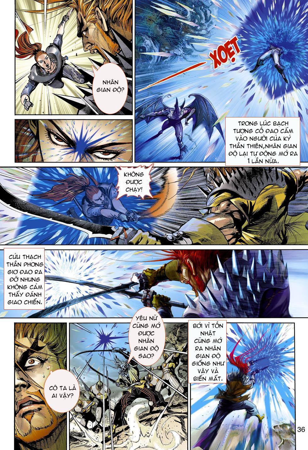 Thần Binh 4 chap 4 - Trang 36