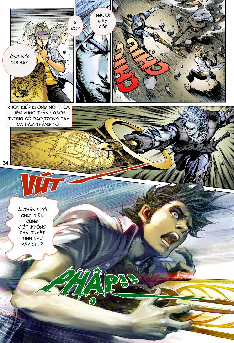 Thần Binh 4 chap 3 - Trang 34