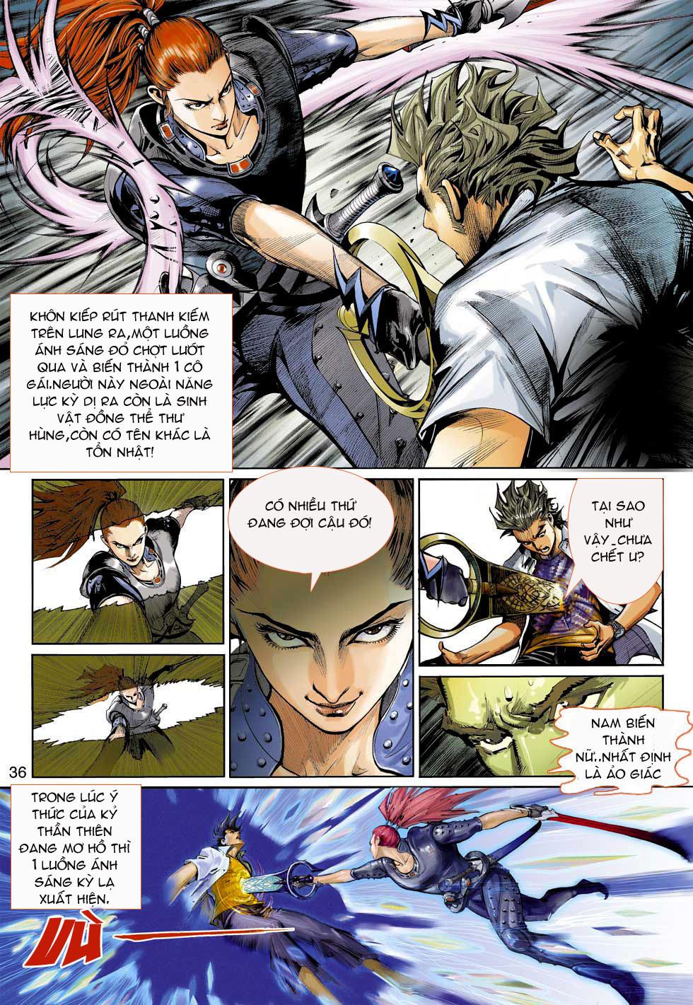Thần Binh 4 chap 3 - Trang 36