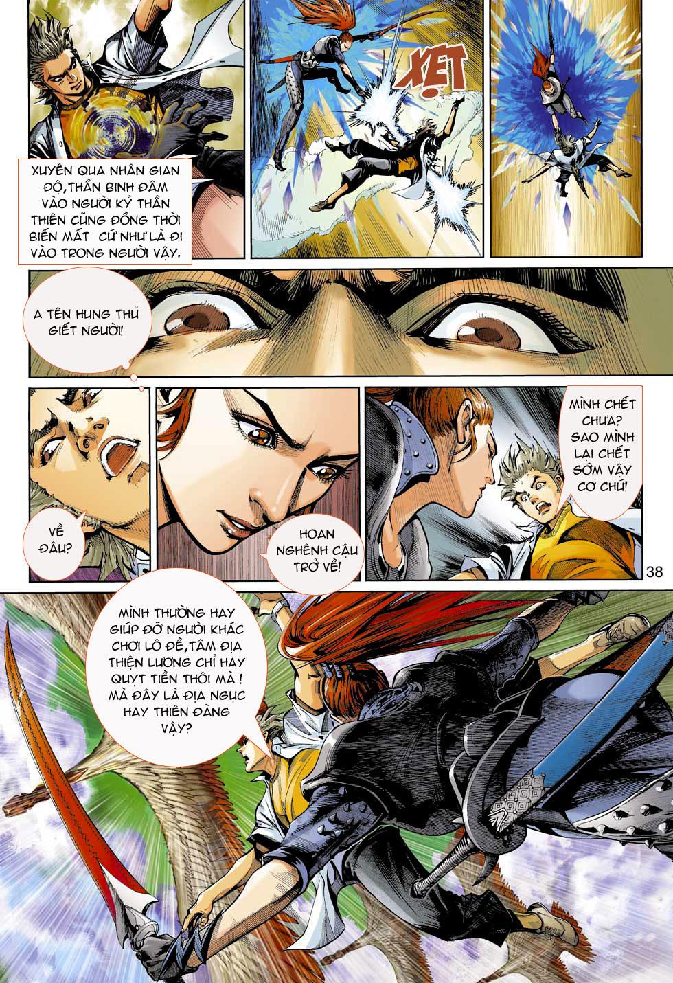 Thần Binh 4 chap 3 - Trang 38