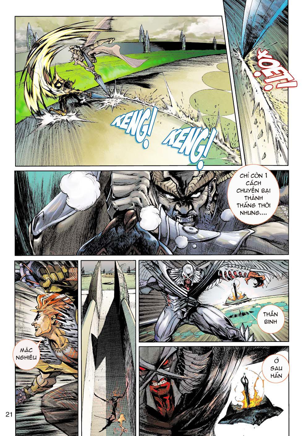 Thần Binh 4 chap 1 - Trang 20