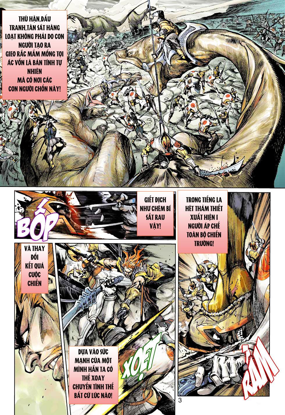 Thần Binh 4 chap 1 - Trang 3