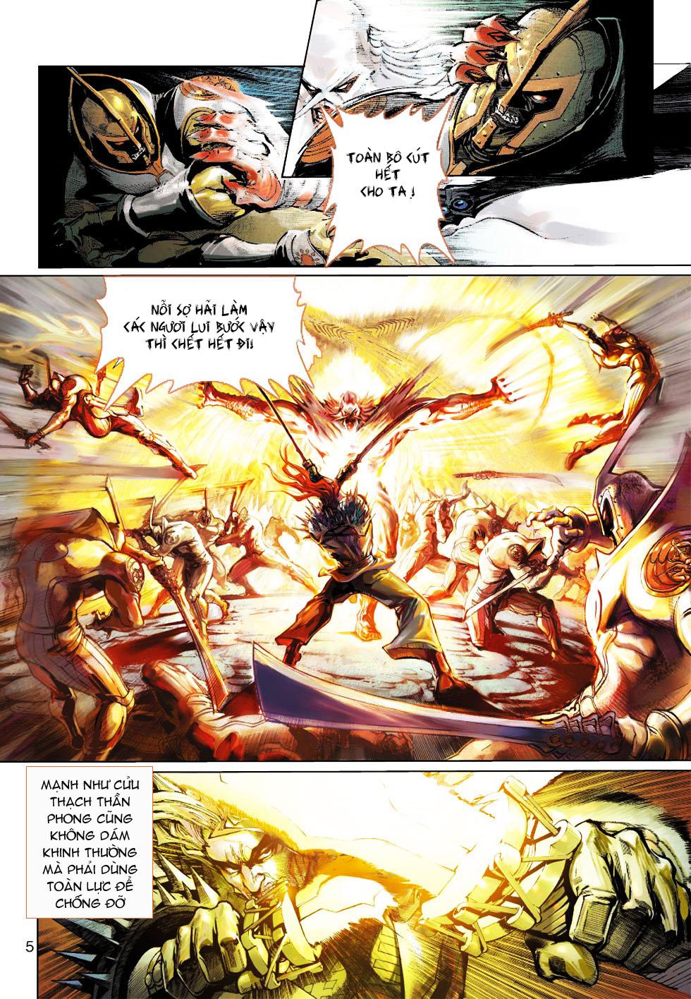 Thần Binh 4 chap 1 - Trang 5