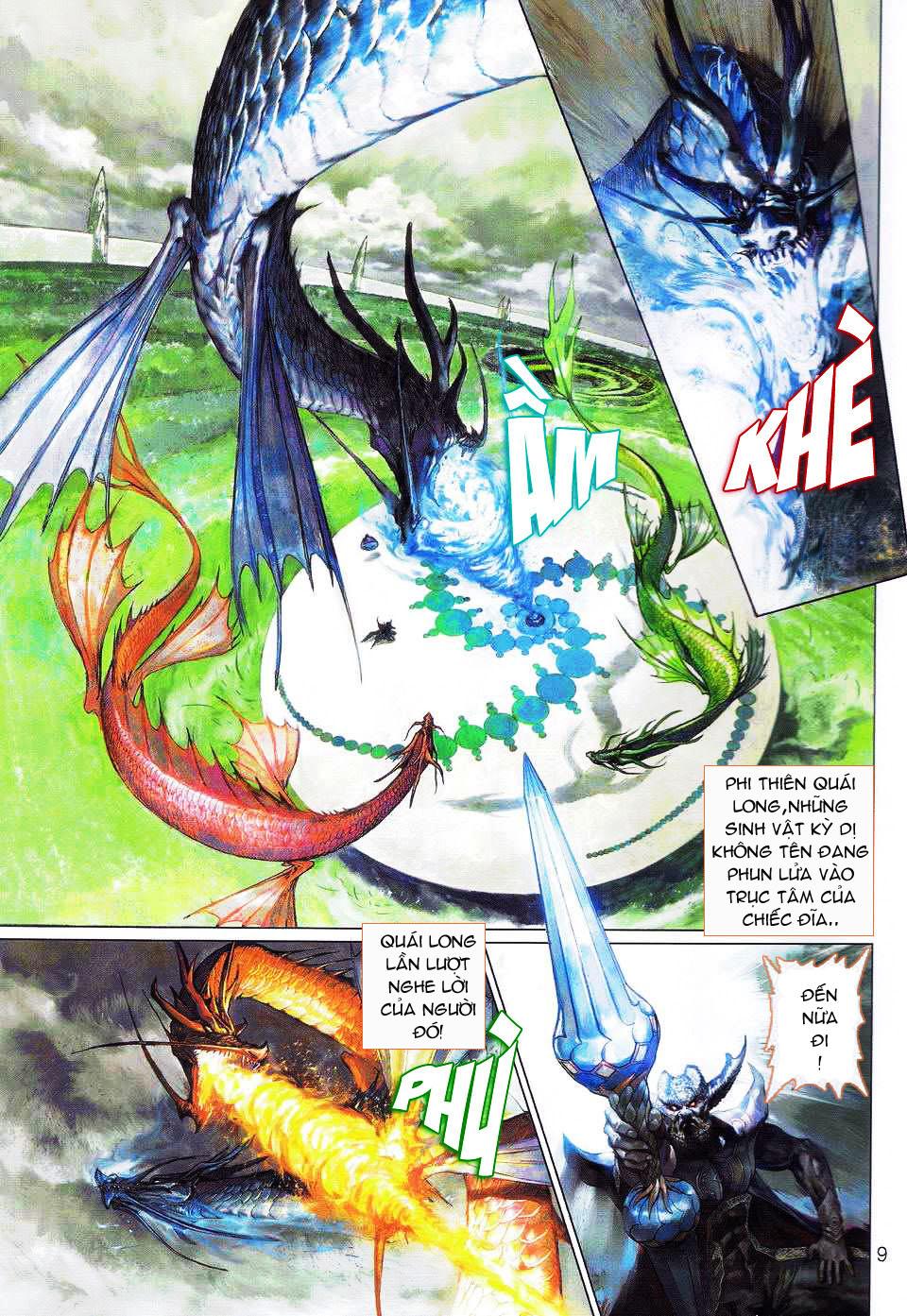 Thần Binh 4 chap 1 - Trang 9