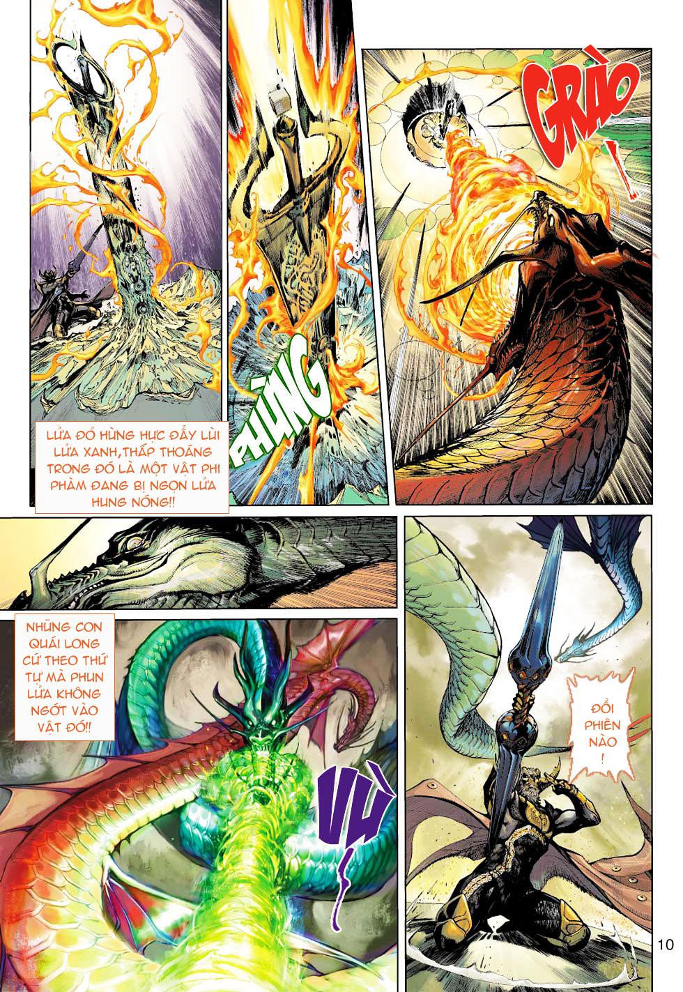 Thần Binh 4 chap 1 - Trang 10
