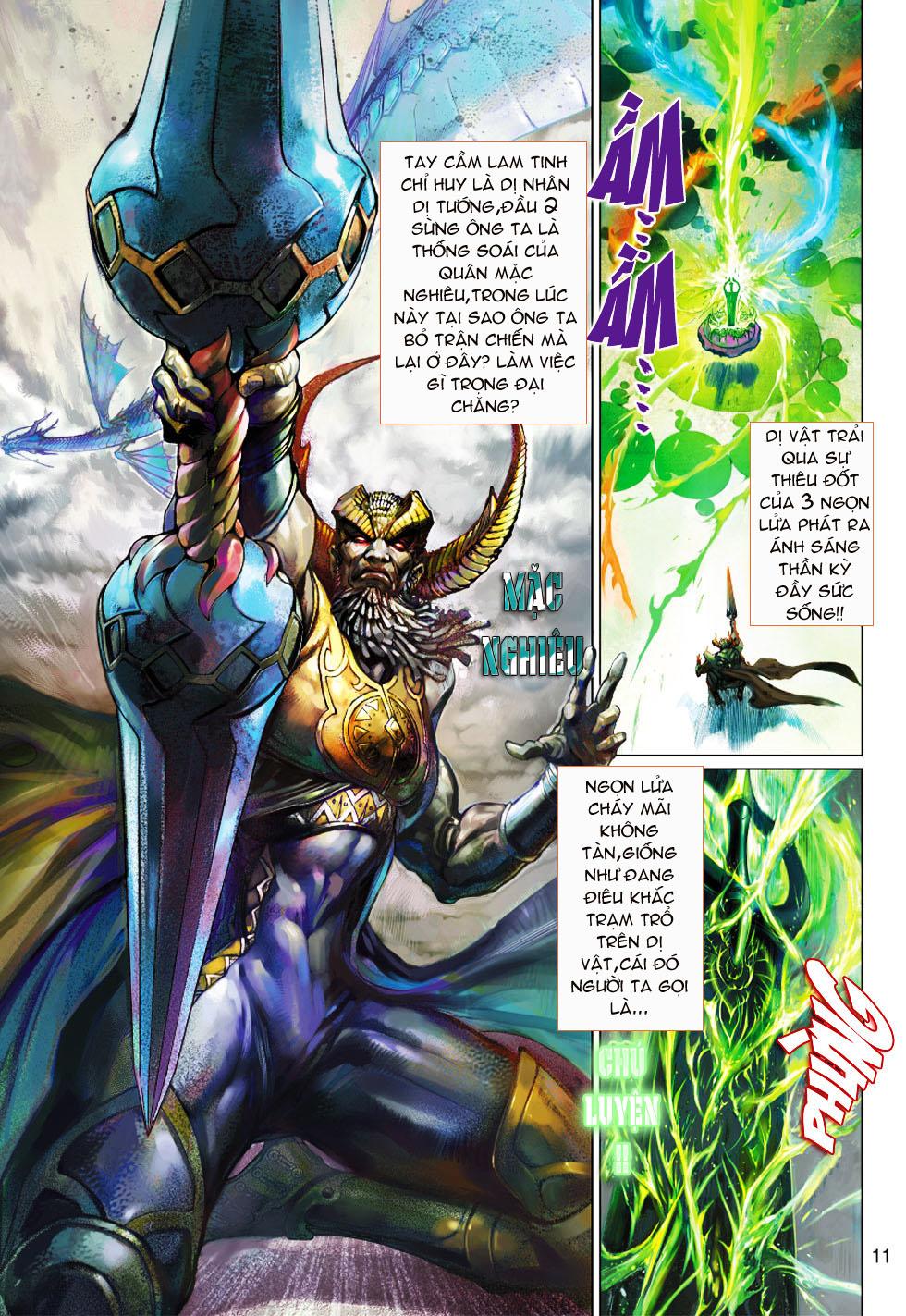 Thần Binh 4 chap 1 - Trang 11