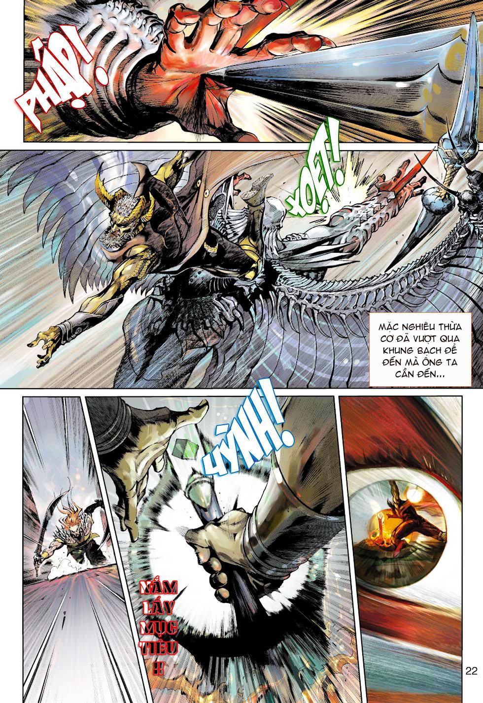 Thần Binh 4 chap 1 - Trang 21