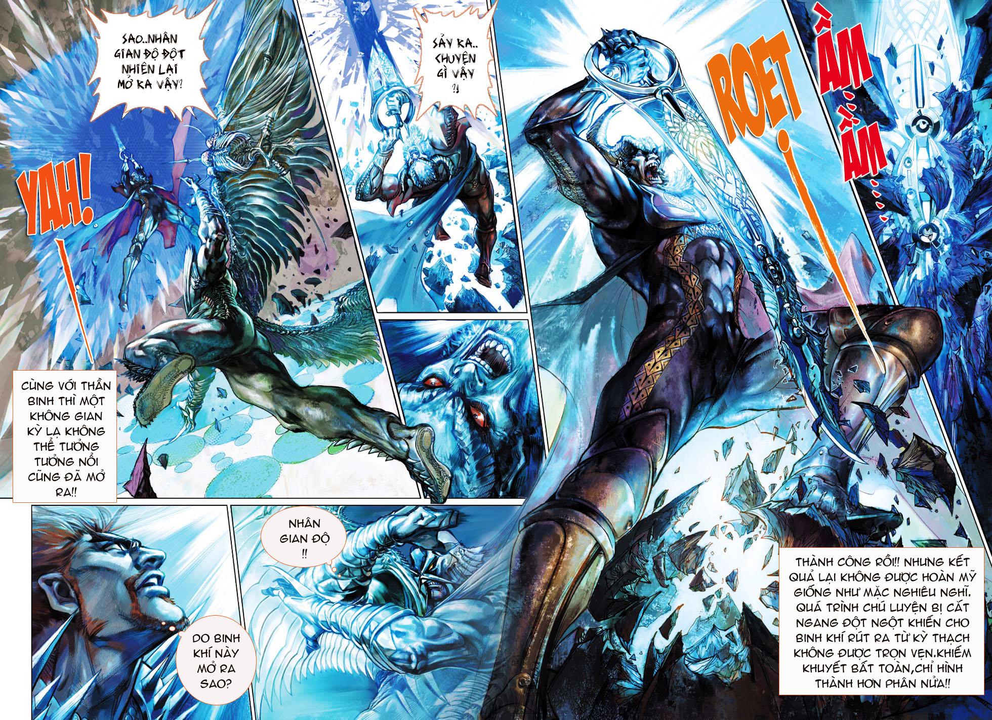 Thần Binh 4 chap 1 - Trang 23