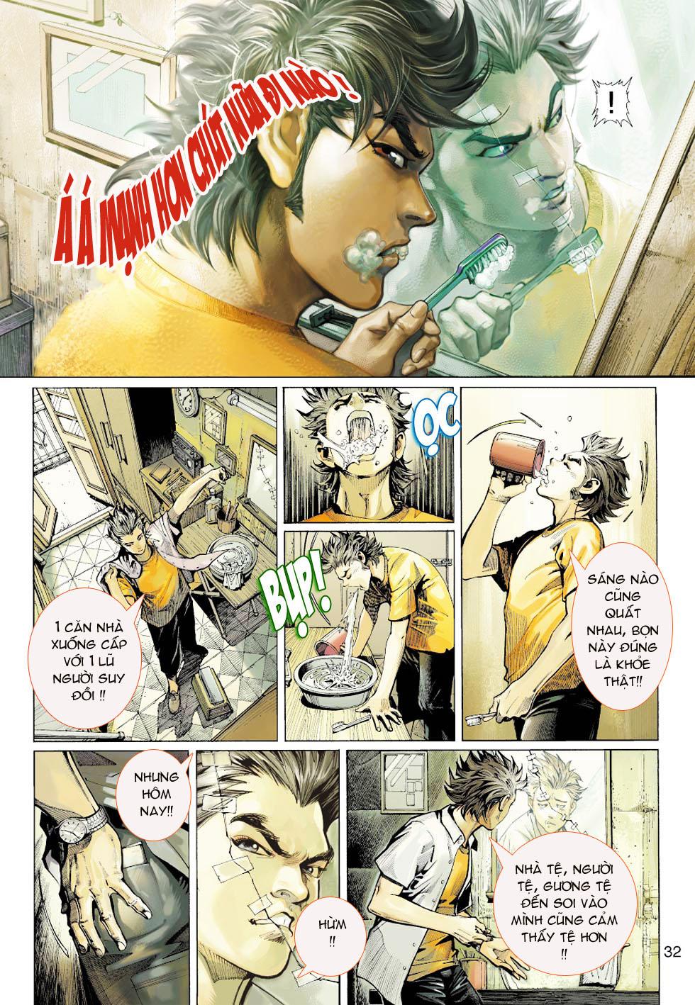 Thần Binh 4 chap 1 - Trang 28