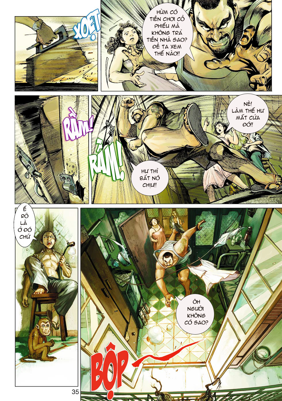 Thần Binh 4 chap 1 - Trang 31
