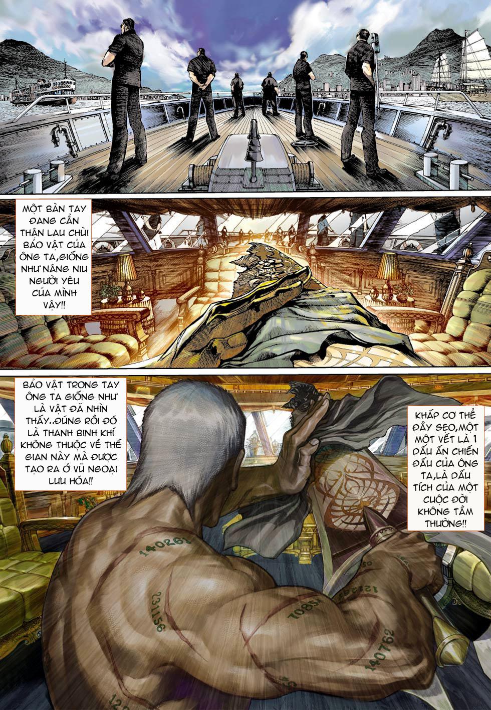 Thần Binh 4 chap 1 - Trang 34