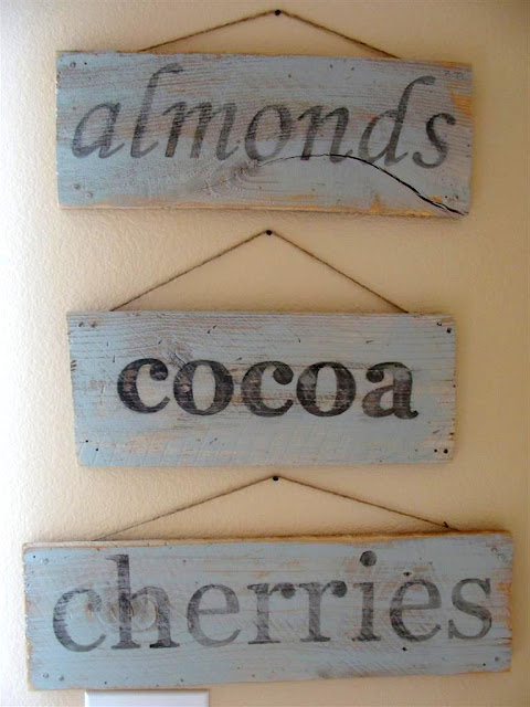 Jenna Sue: Weathered wooden sign DIY
