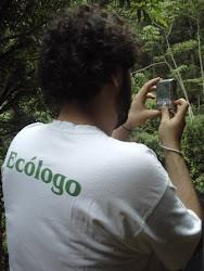 Trabalho de Campo no Parque Estadual Serra do Rola Moça - MG