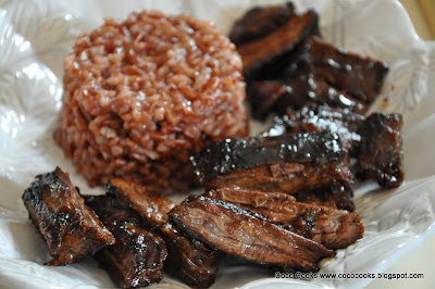 Coco Cooks: Miso Hungry... Miso Marinated Skirt Steaks
