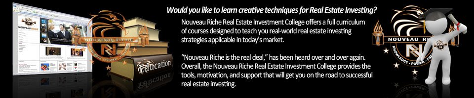 Nouveau Riche Info about Real Estate Investing