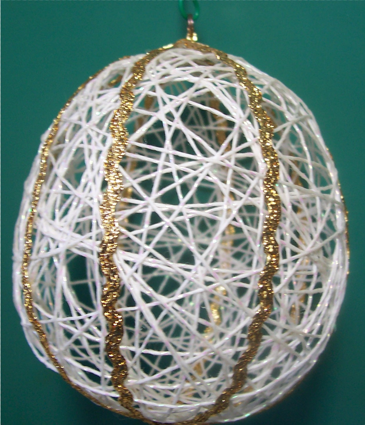 Hanging in there with b string ornaments step by