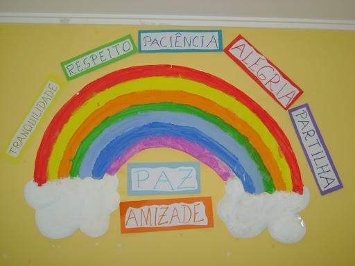 Jardim das 7 cores do arco-íris