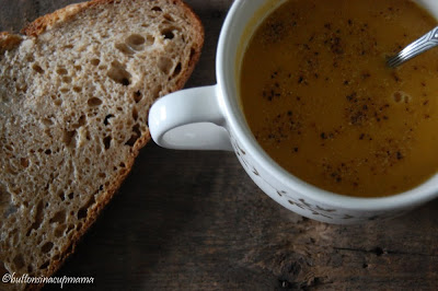 Soupe carotte lentilles – prise 2