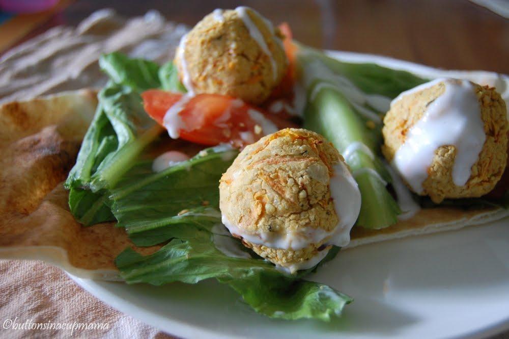 Buttons in a cup mama falafel sans friture aux carottes - Enlever odeur de friture ...