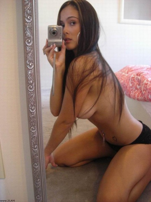 Young Shy Teen Girl Self Shot