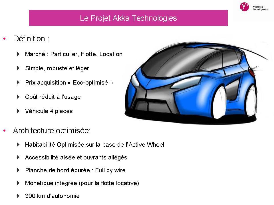 Voiture du futur 4 projets innovants pour le v hicule for A voir dans les yvelines