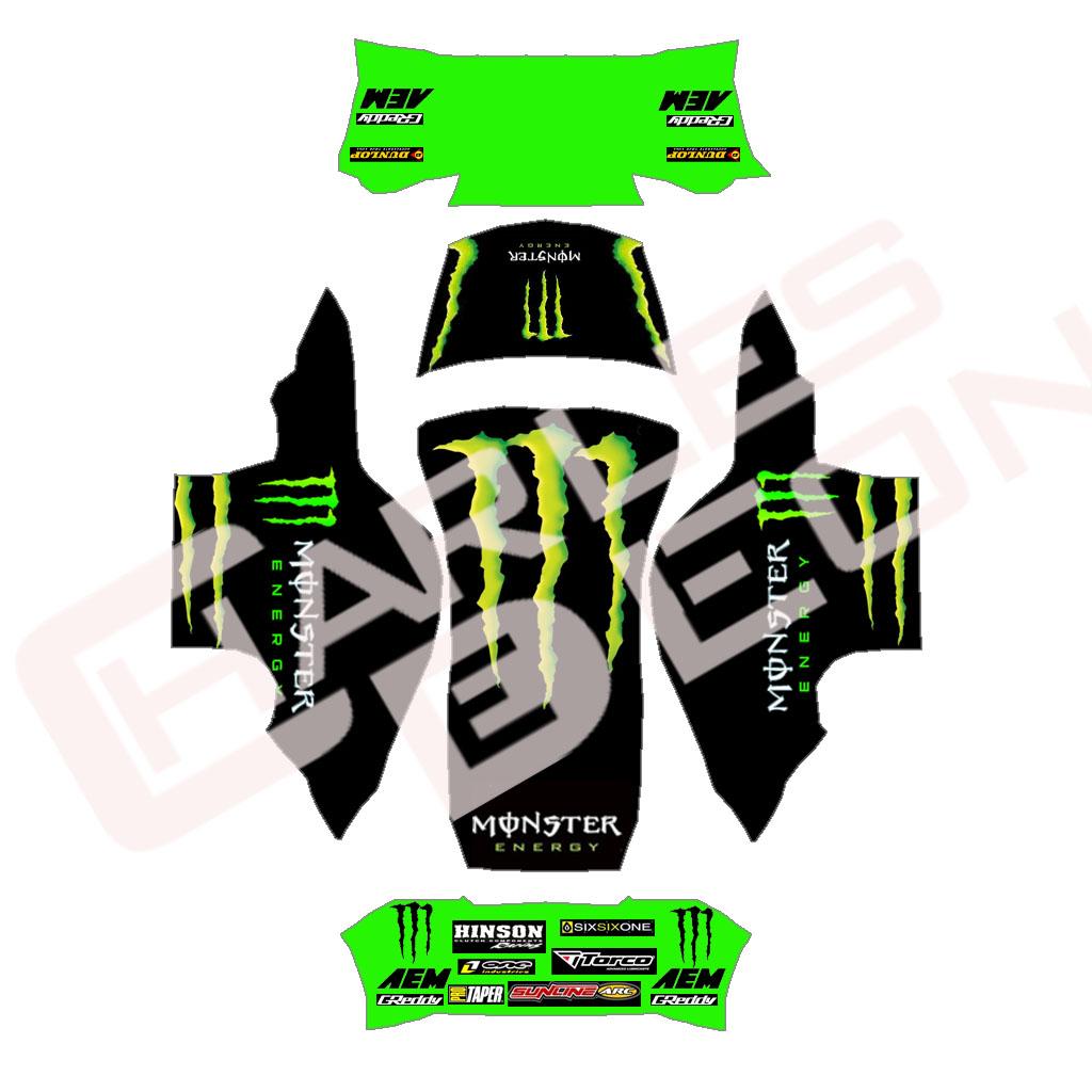 Monster Energy Drink Car