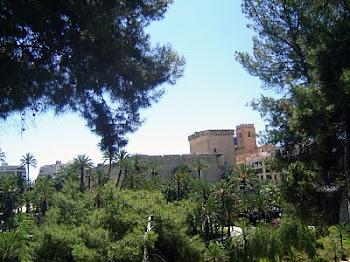 el palacio y su jardin