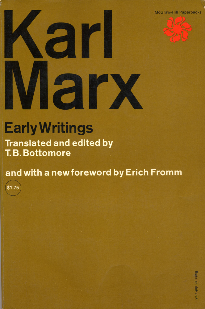 karl marxs early writing on estranged labour that attempts to draw a stark of distinction between pr The difference between the democritean and epicurean philosophy of nature karl marx translated by michael george 2 acknowledgements.
