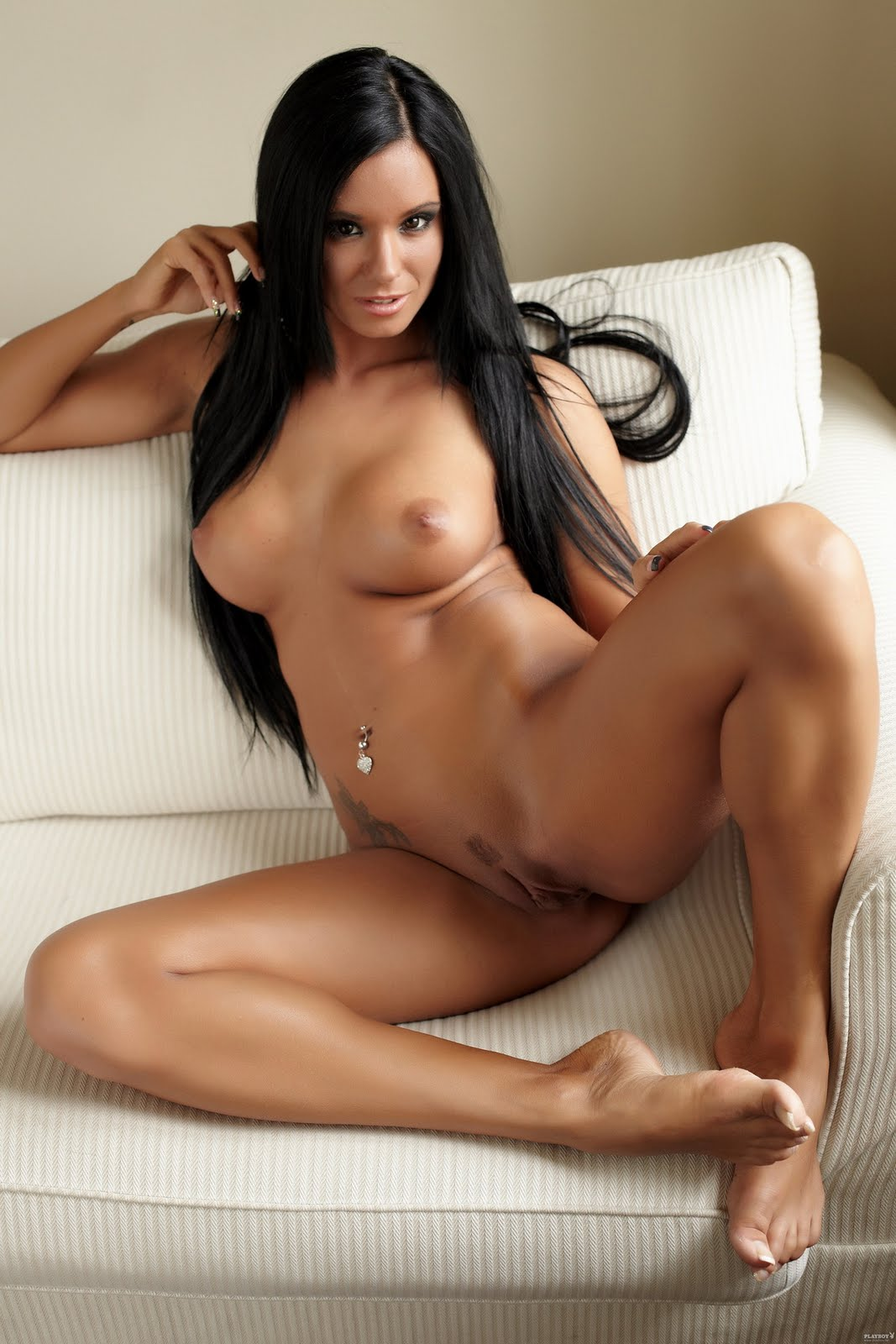 nude Naked ashley bulgari