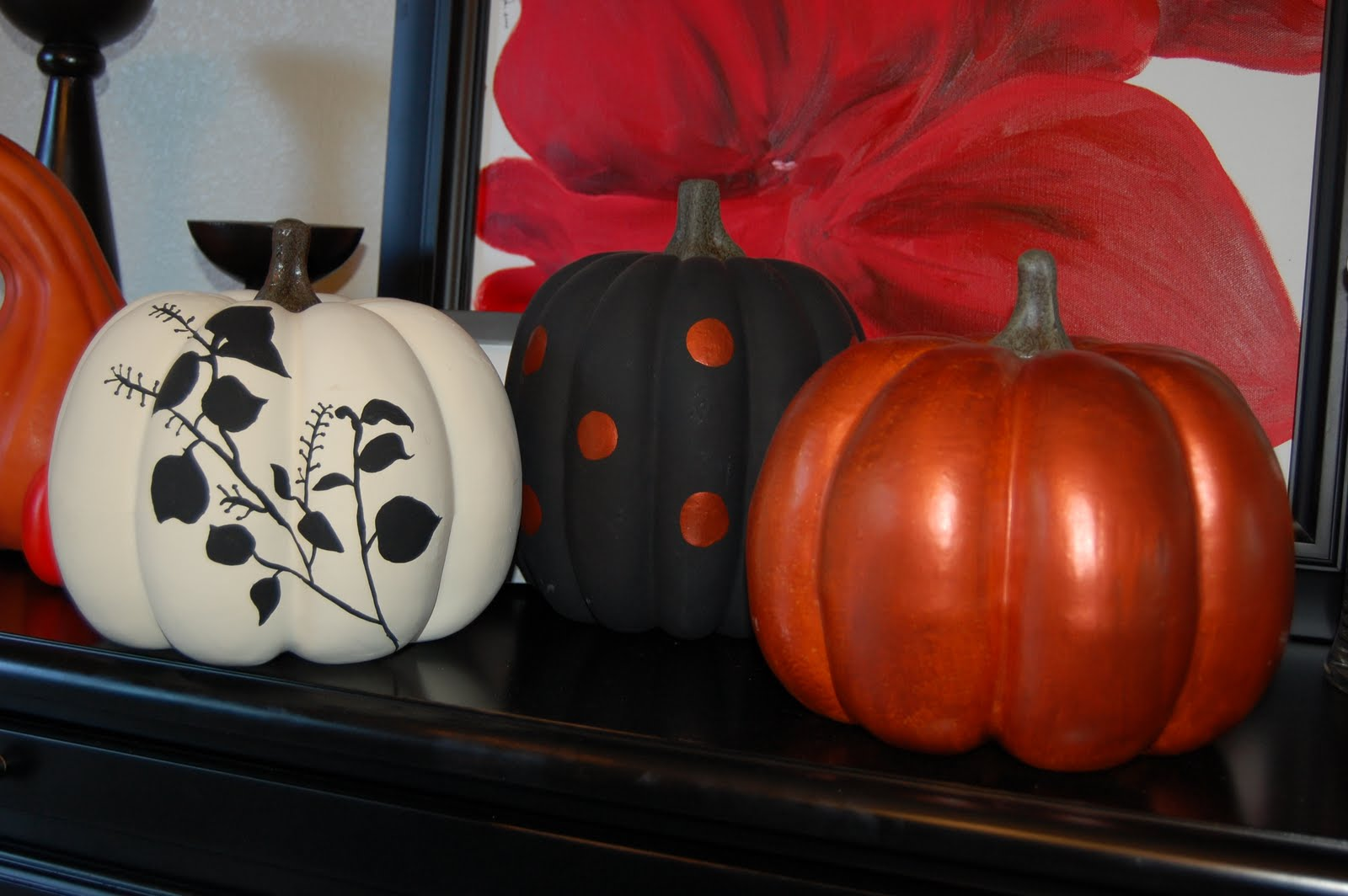 Life with the welge 39 s painted pumpkin ideas - Cute pumpkin painting ideas ...