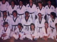 Staff de cinturones negros  Academias Interprovinciales de Taekwondo (maestro Raul Romero)