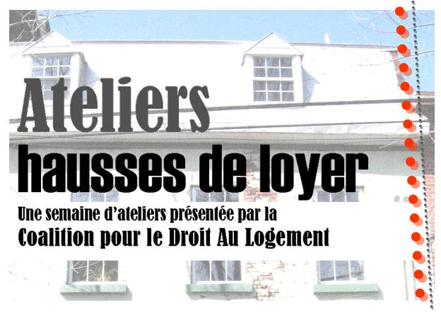 Ateliers Hausses de Loyer