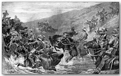 THE RUSH TO KIMBERLEY - THE 10TH HUSSARS CROSSING KLIP DRIFT