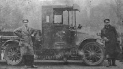 A De Dion, Mellersh & Neale's first motorised delivery van