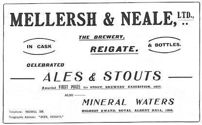 Mellersh & Neale trade advertisment c1908-12.