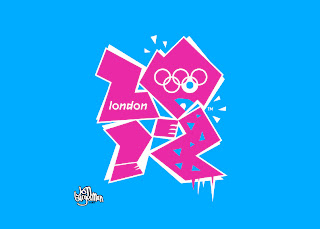 What does the london 2012 olympic logo represent 1