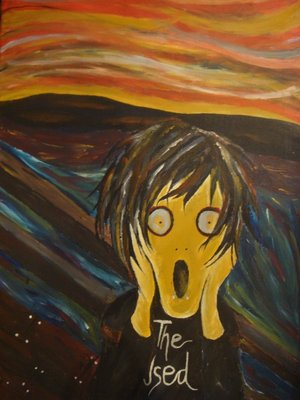 the scream munch essay Life childhood edvard munch was born in a farmhouse in the village of Ådalsbruk in løten, united kingdoms of sweden and norway, to laura catherine bjølstad and.