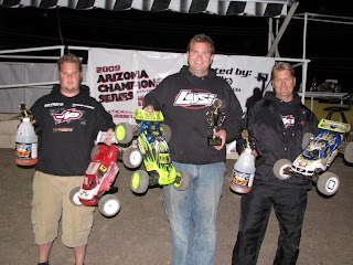 Billy Fischer captured the victory in the Expert Truggy A-main.