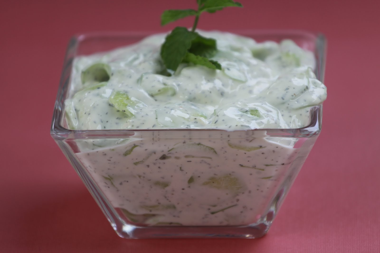 yogurt and mint cucumber salad ingredients 1 english cucumber or