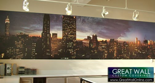Custom wallpaper inspiration custom wallpaper imagery for Cityscape murals photo wall mural