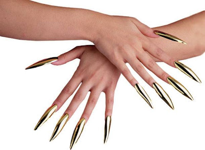 goldclaws The new hit in salons around the world   Japanese nail art