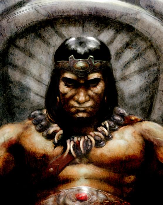 Studio Smugbug: King Conan Conan The Destroyer Throne