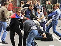 street fights caught on tape
